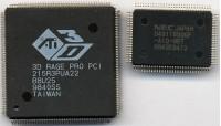 3D Rage Pro PCI chips