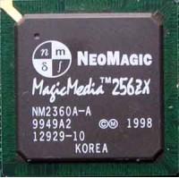 NeoMagic MagicMedia256ZX