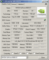 MSI 8983 GPUZ