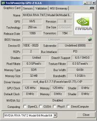 Inno3D PCI GPUZ