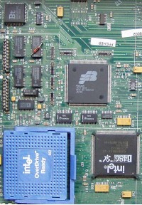 P86C805 integrated in HP Vectra 486/25N
