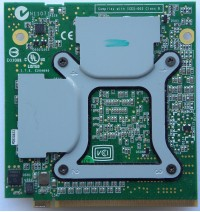 Acer 9600M GT MXM-II module